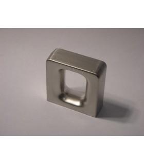 Poignée bouton série Arch nickel satiné