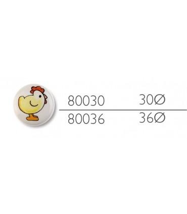 Poignée bouton Titi poule