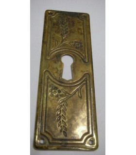 plaque verticale entrée de clé 96 x 33 mm