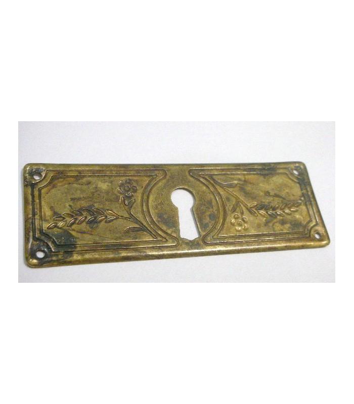 plaque horizontal entrée de clé 96 x 33 mm