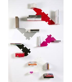 Set de deux étagères modulables Puzzle par Bolis Italia