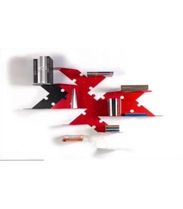 Set de deux étagères modulables Puzzle