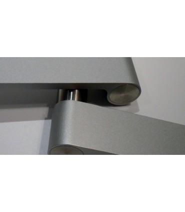 Paire de poignée béquille Outline light grey J310