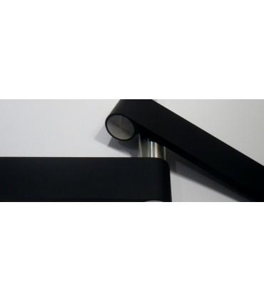 Paire de poignée béquille Outline black mat J313