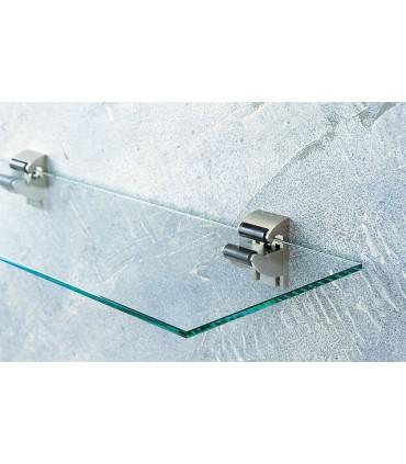 Support pour étagère en verre épaisseur 6 à 23 mm