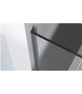 Profil butée de porte (support de joint) coupé en 2