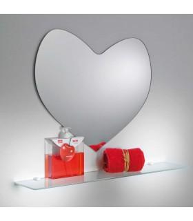 miroir dcoratif love