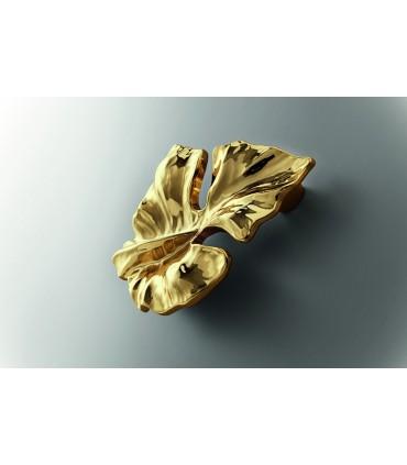 Poignée de meuble série Eden bain d'or