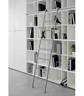 echelle de biblioth que en inox igs d co. Black Bedroom Furniture Sets. Home Design Ideas
