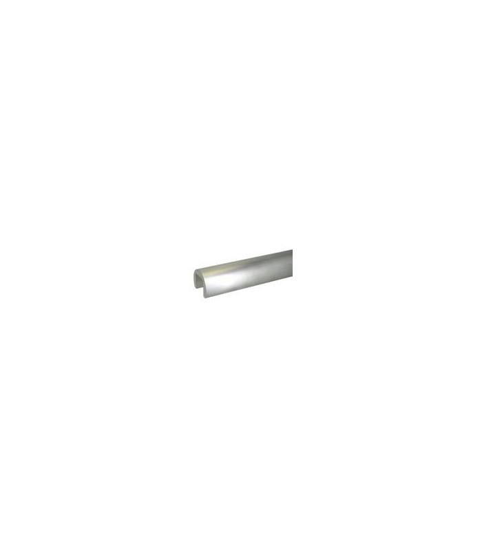 Tube aluminium a fond de gorge diamètre 42.4 mm