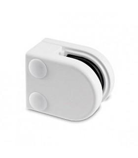 Pince à verre talon plat - modèle 20 - Zamak blanc 9016 mat