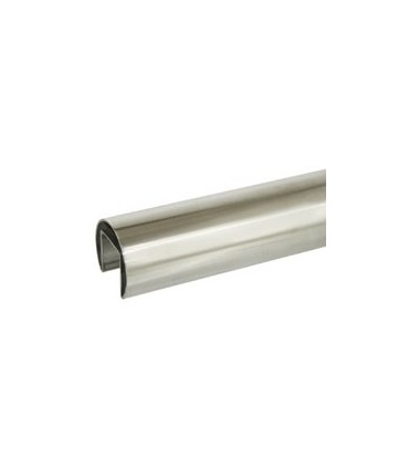 Tube inox à fond de gorge diamètre 60.3 mm