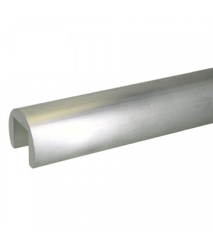 Tube aluminium à fond de gorge diamètre 60.3 mm