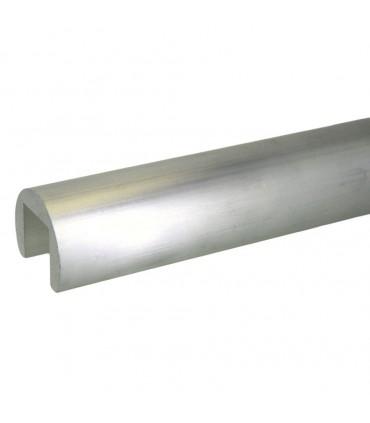 Profil aluminium massif à fond de gorge diamètre 60.3 mm