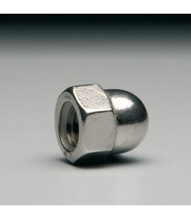 Ecrou borgne inox A4 M6 ou M8 (12 pièces)