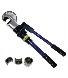 Sertissage hydraulique sur câble de Ø 4, 5 ou 6 mm