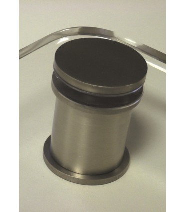 Entretoise de comptoir en inox brossé Ø 42/50 mm