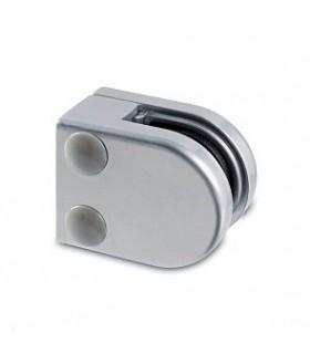 Pince à verre talon plat - modèle 20 - Zamak gris 9006 mat