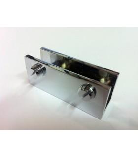 Pince fixe pour verre d'épaisseur 10 mm