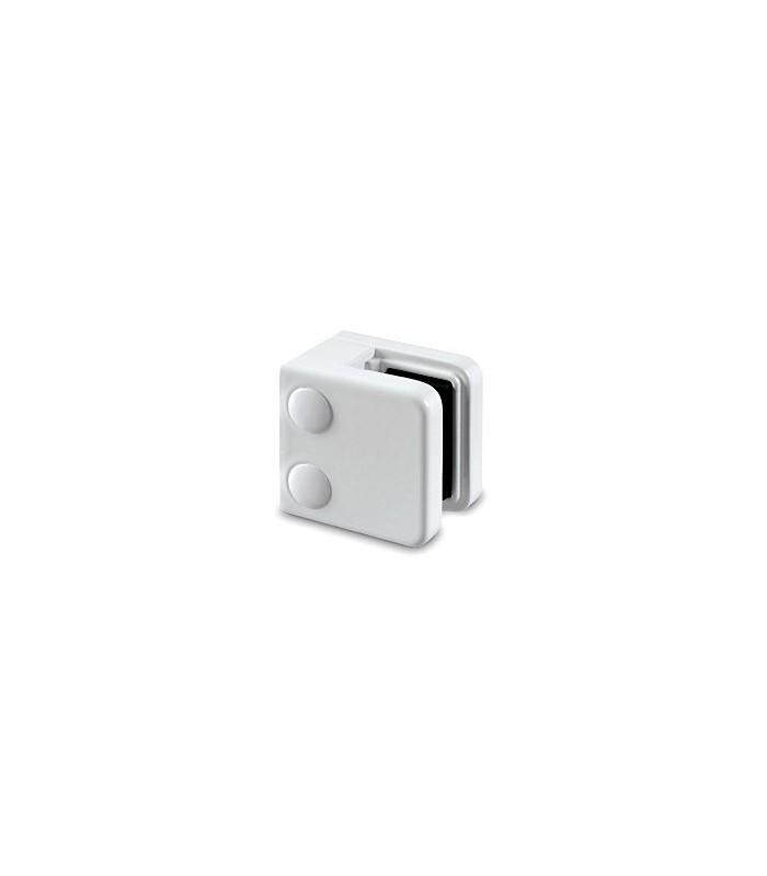 Pince a verre à talon plat - modèle 21 - Zamak blanc 9016 mat
