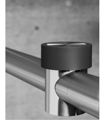 Butée d'arrêt montage sur tube Ø 25 mm