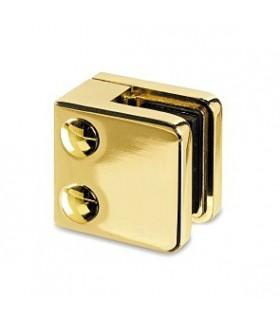 Pince a verre à talon plat - modèle 21 - Zamak doré brillant