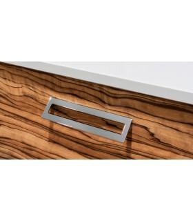 Poignée et bouton de meuble Série Lau 0200 par Viefe