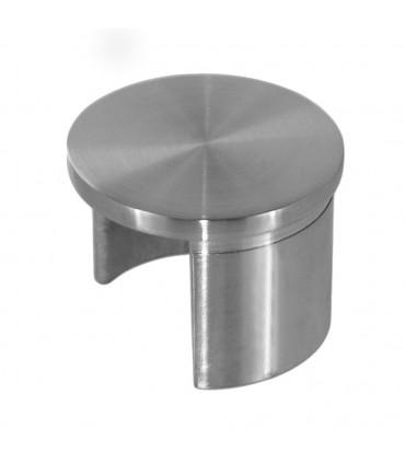 Bouchon plat pour tube à fond de gorge