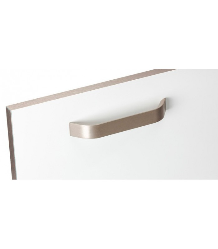 Poignée de meuble série Pont finition nickel satiné