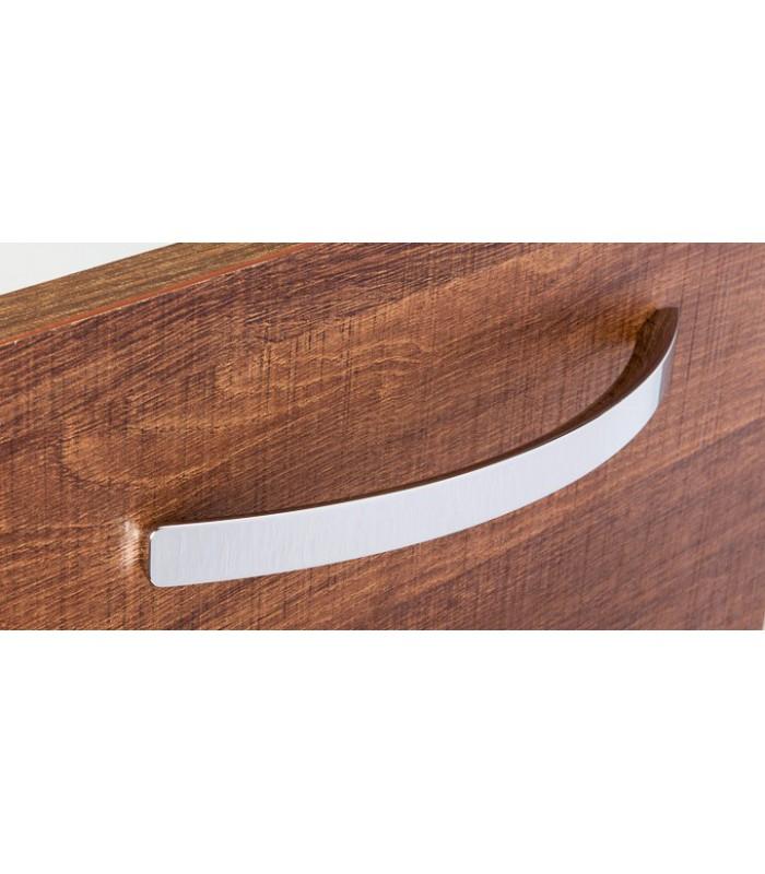 Poignée de meuble série Arch chromé brillant