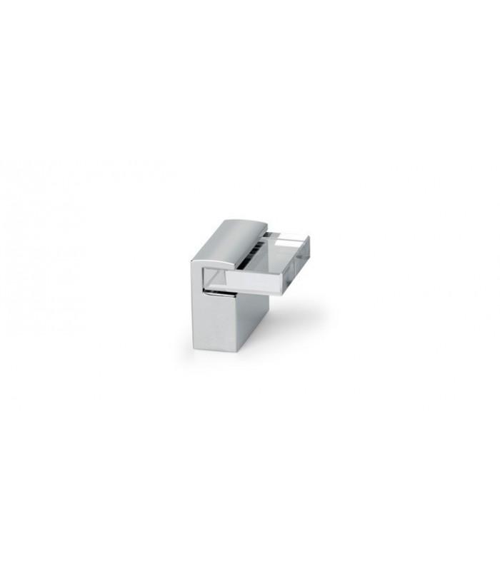 Poignée bouton de meuble série Glass