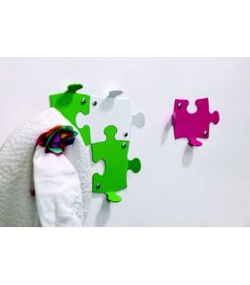 Patère design série Puzzle par Bolis Italia