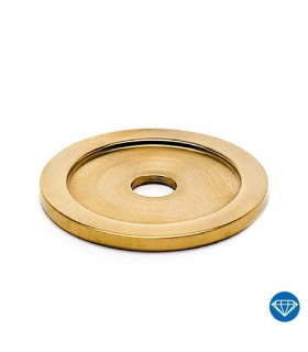 Embase plate 50 mm pour tube rond