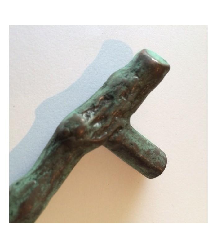 Poignée en bronze AZ série Tronc de Giara