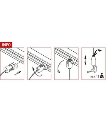 Câble de fixation rapide