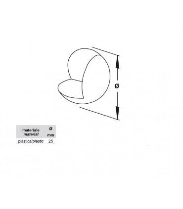 Set de 4 protections d'angle en nylon transparent