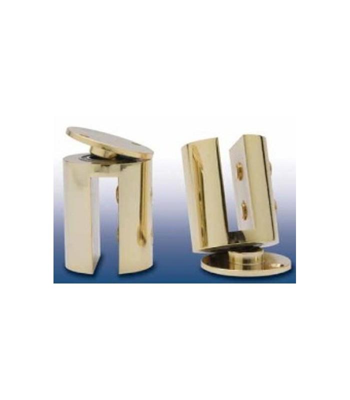 Pivots Simple 55 pour porte en verre sans encoche