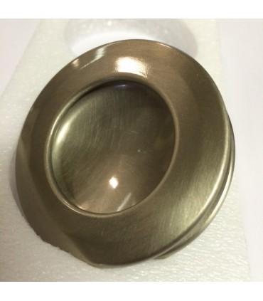 Poignée anneau borgne nickelé