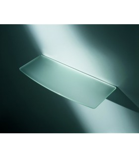 Tablelle verre dépolie convexe