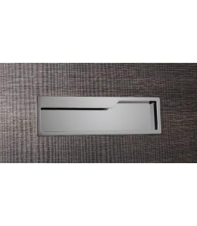 Poignée affleurante pour meubles série Pocket 0209 par Viefe