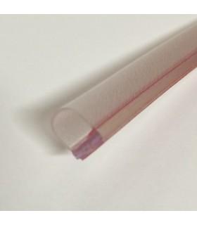 Joint d'étanchéité ballon 8 mm à coller sur le chant de la porte en verre