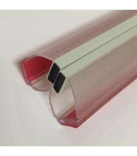 Joint d'étanchéité magnétique 90° à coller