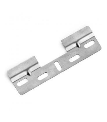 Rail de fixation lg.130 mm pour placards hauts