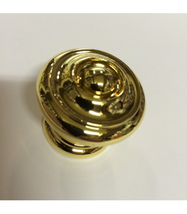 Poignée bouton de meuble série VERG.8651 Ø 35 mm