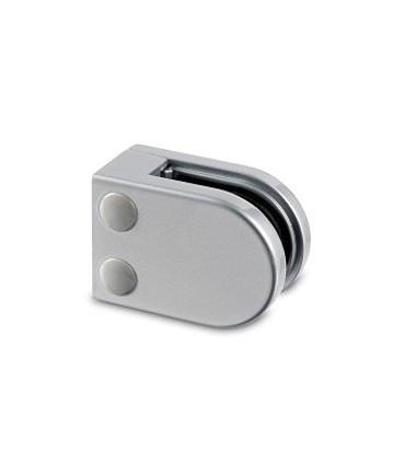 Pince a verre à talon plat - modèle 20 - Zamak gris 9006 mat