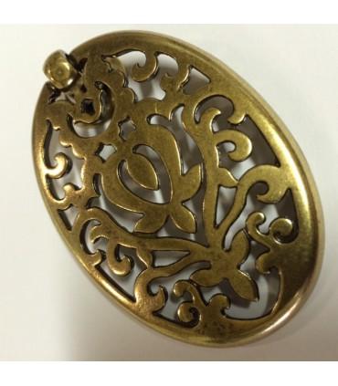 Poignée bouton Alhambra oro valenza