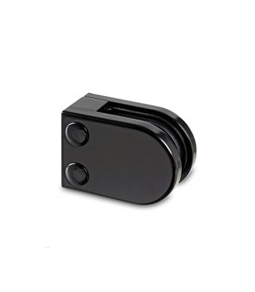 Pince a verre à talon plat - modèle 22 - Zamak noir 9005 mat