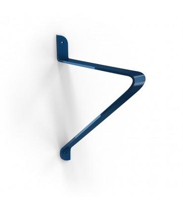 Support pour étagère bois Bellucci bleu