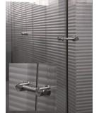 Fixation de paroi de douche pour volume en verre
