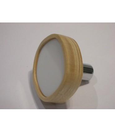Poignée bouton en bois pour meuble